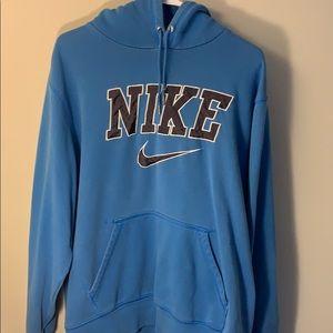 Men's Nike Baby Blue Hoodie